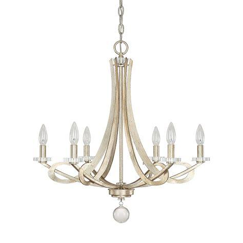 Capital Lighting Chandelier Capital Lighting 4266wg 000 Hutton 6 Light Chandelier In Winter Gold Homeclick