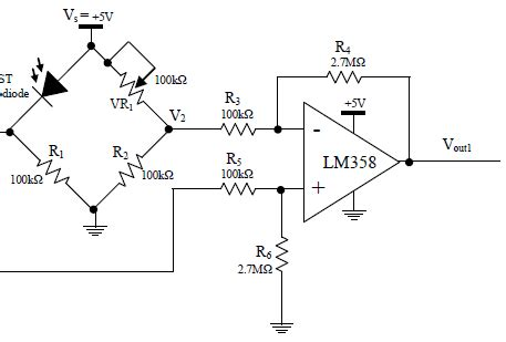 resistor bridge lifier circuit wheatstone bridge and difference lifier circuit