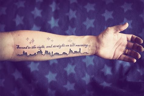 peter pan tattoo quotes tumblr peter pan tattoo tattoo love pinterest galaxies