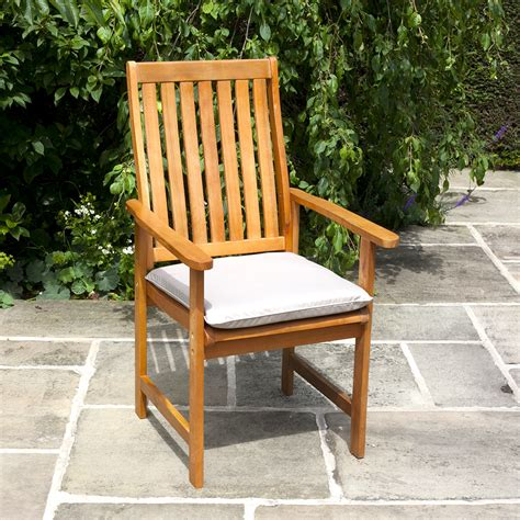 Garden Armchair by Billyoh High Back 8 X Wooden Acacia Hardwood