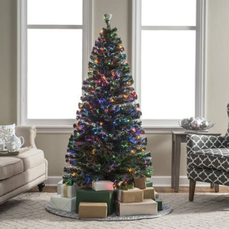 4 12 ft xmas tree at walmart 6 ft fiber optic evergreen pre lit led tree walmart