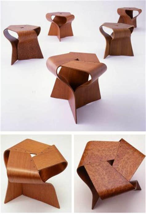 Tendo Japanese Furniture: Yamanaka Group Mushroom Stool: NOVA68.com