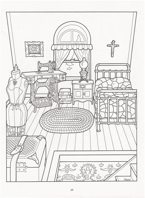 printable coloring pages rooms house victorian house coloring pages coloring home