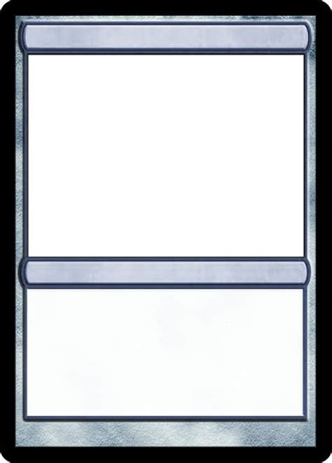 mtg blank card template 17 best images about card on leather