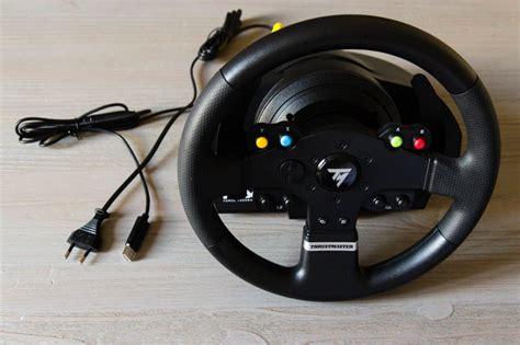 volante feedback test volant thrustmaster tmx feedback