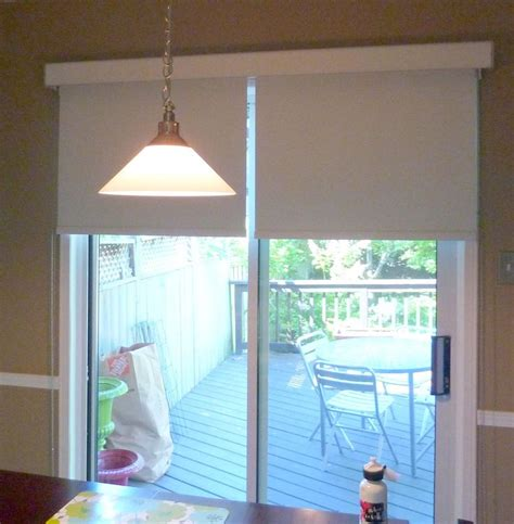 shades for patio doors best 25 sliding door shades ideas on