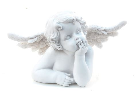 Cherub L by Beautiful Figurines Statues In Baby