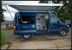 awnings outside vans sprinter cer ideas