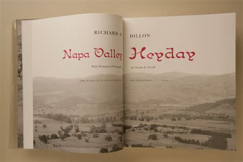 reference book napa valley sold out napa valley heyday the book club of california
