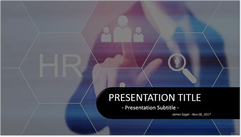 Free Human Resources Powerpoint 35799 Sagefox Powerpoint Templates Human Resources Powerpoint Presentation Templates
