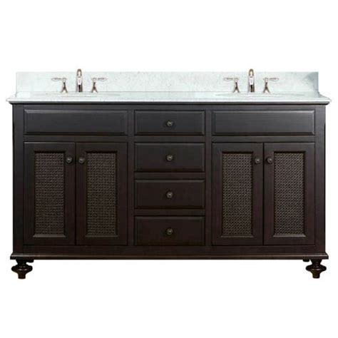 espresso sink 60 inch bathroom vanity water