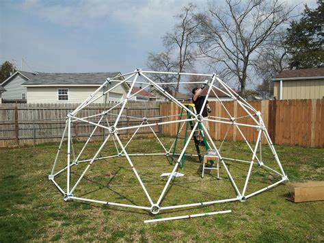 pictures of a build it yourself pvc dome greenhouse geodesic dome pvc geodesic dome kits made from pvc pipe