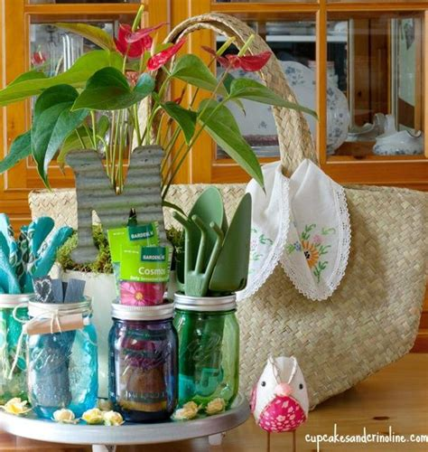 Gardening Gifts Ideas Mothers Day Ideas 6 Diy Gifts Recipes Setting For Four