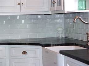 Kitchen Glass Backsplash Ideas Decoration Coloured Subway Tile For Kitchen Backsplashes