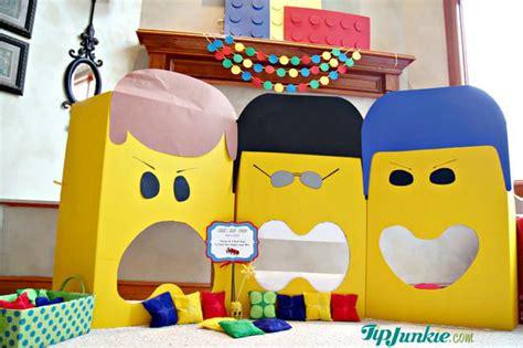 Bean Bag Toss Game The Lego Movie Tip Junkie Bean Bag Toss Template