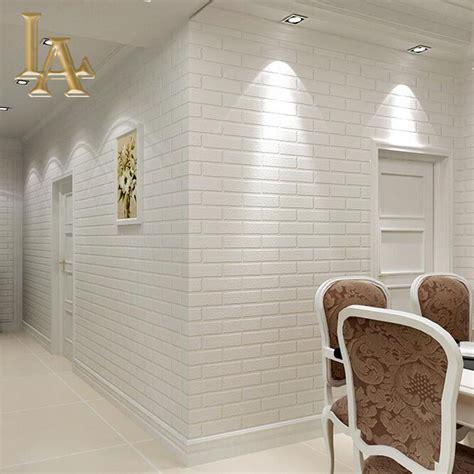 wallpaper home decor modern grey white deep embossed 3d brick wallpaper roll for
