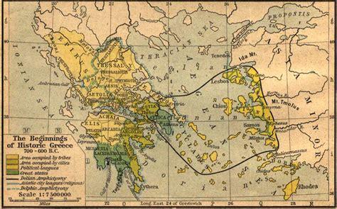 grecia antica cartina muta mondo antico