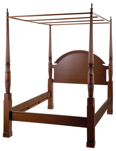 antique canopy bed king size traditional 4 post canopy bed antique mahogany