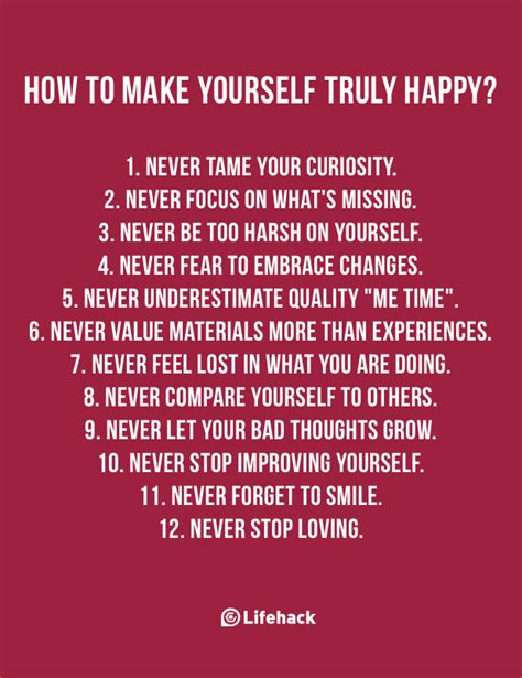 how to make a happy 12 things you should do to make yourself happy you posh