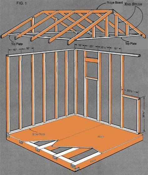 woodwork storage shed plan pdf plans