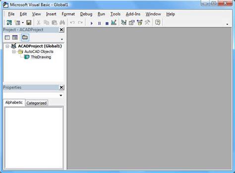 tutorial visual basic for applications vba primer part 1 afralisp