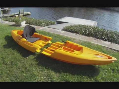 sectional kayak tequila sectional kayaks by point 65 north youtube
