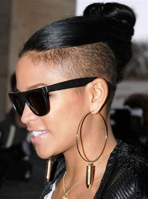short braids on shaved head 50 mohawk hairstyles for black women beauty black women