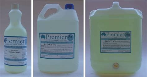 bleaches thickened bleach premier cleaning products online shop
