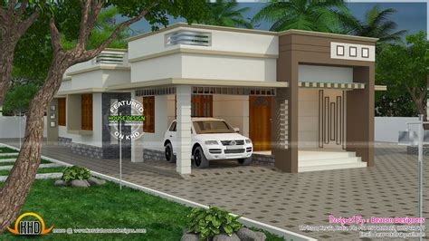 flat roof 3 bedroom house kerala home design and floor plans 1244 sq ft 3 bedroom home plan kerala home design and floor plans