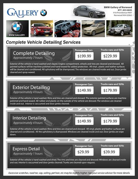 car detailing flyer electrical schematic