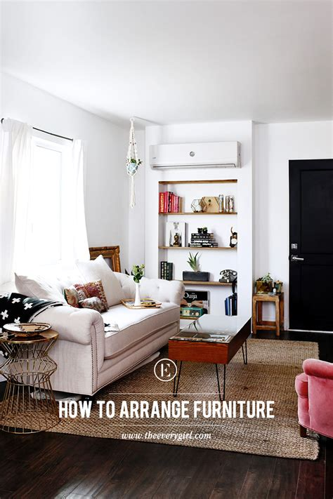 arrange furniture how to arrange furniture the right way the everygirl