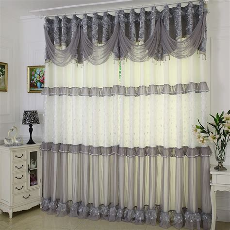 gray lace curtains popular grey lace curtains buy cheap grey lace curtains