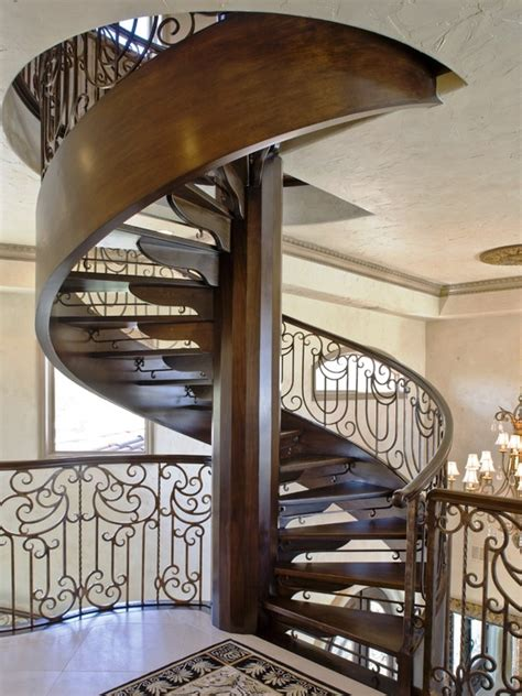 Circular Staircase Design Image Gallery Spiralstairs