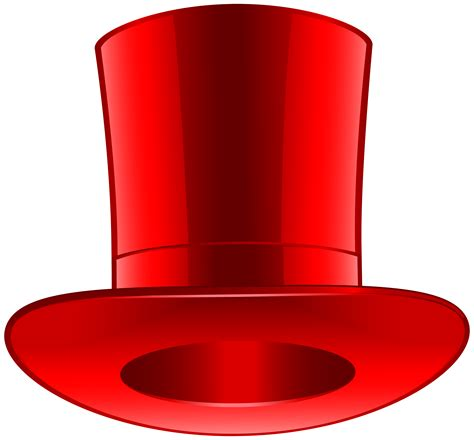 decke rot top hat png clip best web clipart