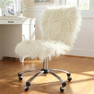 Aqua Fuzzy Desk Chair Desk Chair Pottery Barn Hack