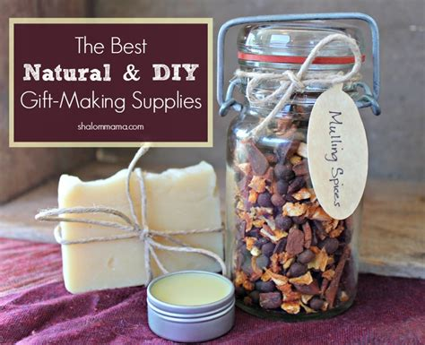 it gifts the best natural and diy gift making supplies tiny