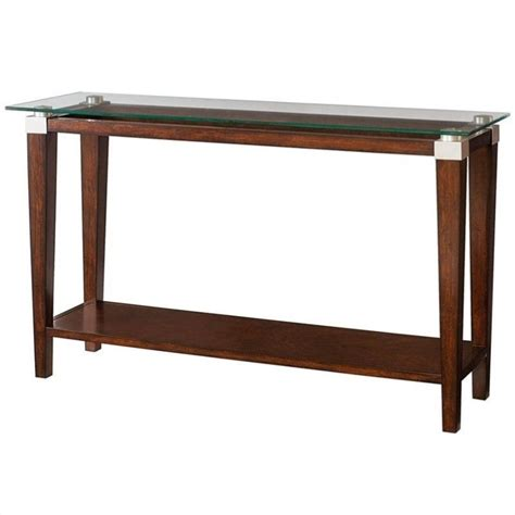 Sofa Table Ebay by Hammary Solitaire Sofa Table In Rich Brown