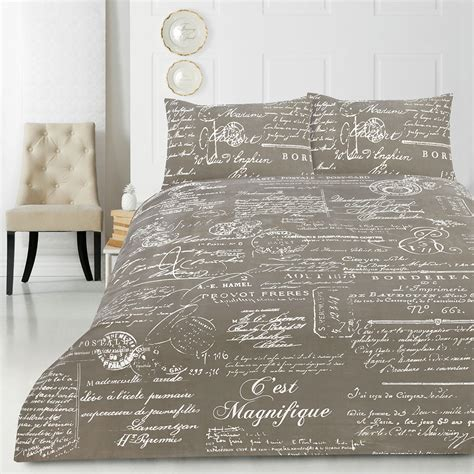 script bedding script quilt doona duvet cover set luxury bedding french