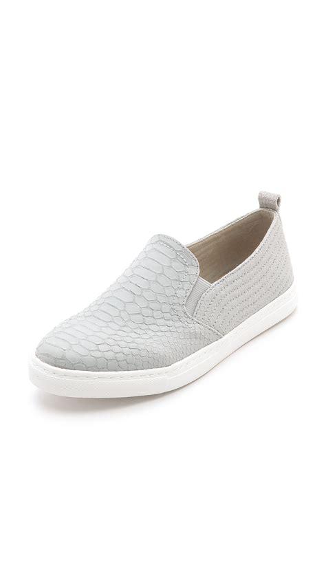 light grey sneakers splendid san diego slip on sneakers light grey in gray