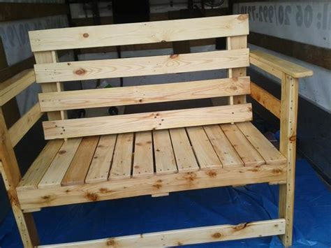seating bench plans outdoor seating bench made from pallets wood pallet