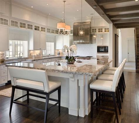 20 beautiful kitchen islands with seating the 25 best kitchen island seating ideas on pinterest