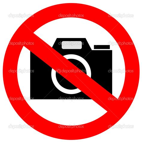 cameri no 9 no photography sign images no photography allowed sign