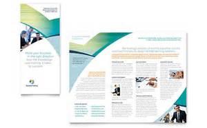 tri fold brochure templates business brochure designs
