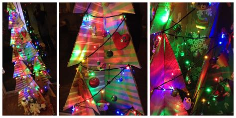 make your own cardboard christmas tree geekdad