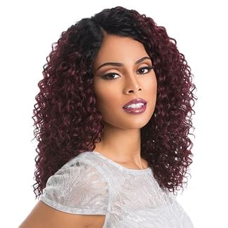 hair enclosures sensationnel stocking cap quality custom lace wig deep wave