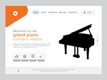 Black White Drawing Grand Piano Stock Illustrations 169 Black White Drawing Grand Piano Stock Piano Website Template