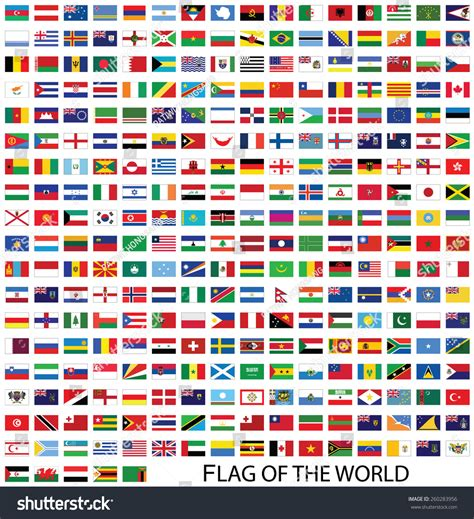 flags of the world website flags world vector stock vector 260283956 shutterstock