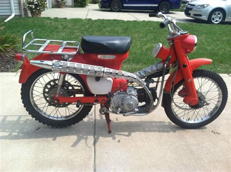 Honda Trail 90 Parts by Buy 1965 Honda Ct200 Trail 90 Low Title Key Tool On