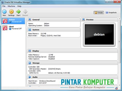 bagaimana cara membuat virtual machine di windows 7 tutorial cara menginstall windows 7 di virtualbox pintar