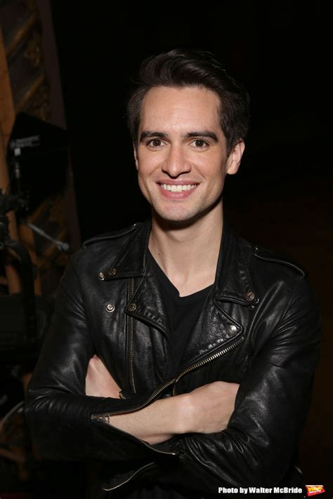 brendon urie photo coverage brendon urie takes center stage as kinky